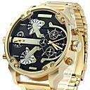 ieftine Inele Bărbați-Bărbați Ceas de Mână / Ceas Brățară / Ceas Militar  / Ceas Sport Calendar / Rezistent la Apă / Creative / Mare Dial / Punk / Cool Oțel