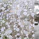 preiswerte Fensterfolie & Aufkleber-Geometrisch Moderne Fensterfolie, PVC/Vinyl Stoff Fensterdekoration Esszimmer Schlafzimmer Büro Kinderzimmer Wohnzimmer Badezimmer Shop /