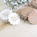 """hesapli Düğün Hediyeleri-rustik Tema Etiketler, Etiketleri ve Etiketler - 100 1 ¾"""" Deniz Kabuğu Fişler Etiketler Çıkartmalar"""
