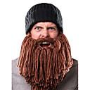 お買い得  照明アクセサリー-男性用 活発的 デニム, パッチワーク ビーニー帽