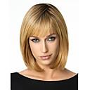 ieftine Corkscrews & Openers-Peruci Sintetice Drept Tunsoare bob Păr Sintetic Maro Perucă Pentru femei Scurt / Mediu Blond inchis