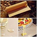 billige Bakeredskap-bbq grillmatter ovnbake nonstick ark baking linoleum gjenbruk oljepapir 40 * 60cm