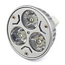 billige LED-lyspærer-380lm GU5.3(MR16) LED-spotpærer MR16 LED perler Høyeffekts-LED Varm hvit Kjølig hvit 12V