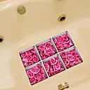 halpa Telineet ja jalustat-Vessatarrat - Lentokone-seinätarrat Kukkakuviot Kylpyhuone