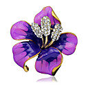 cheap Pins and Brooches-Women's Brooches - Stylish Brooch Black / Purple / Red For Wedding / Party / Dailywear / Casual