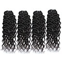 cheap Human Hair Wigs-4 Bundles Peruvian Hair Water Wave Unprocessed Human Hair Natural Color Hair Weaves 8-28 inch Human Hair Weaves Hot Sale Human Hair Extensions