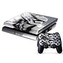 abordables Accesorios PS4-B-SKIN Adhesivo Para PS4 ,  Adhesivo PVC 1 pcs unidad