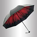 abordables Paraguas/Parasol-El plastico Hombre / Mujer / Chica Sombrilla Paraguas de Doblar