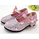 halpa Tyttöjen kengät-Tyttöjen Kengät PU Comfort Tasapohjakengät varten Hopea / Sininen / Pinkki