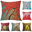 cheap Abstract Paintings-6 pcs Velvet Pillow Case, Graphic Prints Accent/Decorative