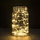 ieftine Benzi de Lumină LED-30 LED-uri de cupru lumini de sârmă lumini șir 3m pentru festivalul de Crăciun lumina petrecere de nunta sau lampă de decorare acasă