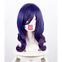 cheap Costume Wigs-i m so popular about how to do celery marsh by gradient dark purple long hair cosplay high temperature silk wig Halloween