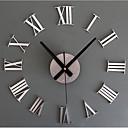 cheap DIY Wall Clocks-Modern/Contemporary Retro Acrylic Glass Metal Round Novelty Indoor/Outdoor,AA Wall Clock