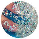 povoljno Umjetno drago kamenje&Dekoracije-1440pcs Nail Art Kit Nakit za nokte Rhinestones Za nail art Manikura Pedikura Dnevno glitters / Vjenčanje / Moda