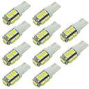 baratos Luzes de Interior para Carros-10pçs Carro Lâmpadas SMD 5050 LED Luz traseira / Lâmpada para a Porta / Lâmpada Lateral