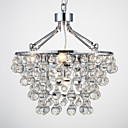 cheap Chandeliers-QINGMING® Chandelier Ambient Light - Crystal, Traditional / Classic, 110-120V 220-240V Bulb Not Included
