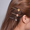 ieftine Protecție de Schi-Pentru femei Draguț Petrecere, Alamă - Bijuterii Agrafe Păr