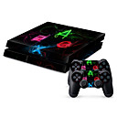 cheap Speakers-B-SKIN PS4 PS / 2 Sticker For PS4 ,  Novelty Sticker PVC 1 pcs unit