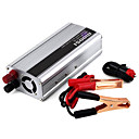 cheap Solar Controllers-1500W DC 12V to AC 220V Power Inverter - Silver