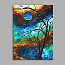 baratos Impressões-Abstrato 1 Painel Tela de pintura Vertical Estampado Decoração de Parede Decoração para casa