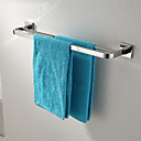 cheap Towel Bars-Towel Bar High Quality Contemporary Stainless Steel 1 pc - Hotel bath 2-tower bar
