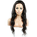 cheap Bed Pillows-Human Hair Full Lace Lace Front Wig Brazilian Hair Body Wave Natural Black Wig 130% Density 10-28 inch with Baby Hair Natural Hairline African American Wig 100% Hand Tied Natural Black Women's Short