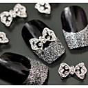 baratos Adesivos de Unhas-10 pcs Strass arte de unha Manicure e pedicure Diário Glitters / Metálico / Fashion