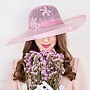 baratos Acessórios de Cabelo-Mulheres Imitação de Pérola Linho Capacete-Casamento Ocasião Especial Casual Chapéus 1 Peça