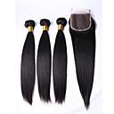 رخيصةأون ملابس الكلاب-3 مجموعات شعر برازيلي مستقيم شعر مستعار طبيعي ينسج شعرة الإنسان ينسج شعرة الإنسان شعر إنساني إمتداد