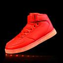 olcso Férfi sportcipők-Férfi Light Up cipők PU Ősz / Tél Kényelmes Sportcipők Csúszásmentes Arany / Forgásc / Piros