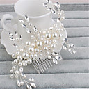cheap Fans & Parasols-Imitation Pearl / Rhinestone Hair Combs with 1 Wedding / Special Occasion Headpiece
