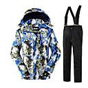voordelige Ski/Snowboardkleding-Heren Ski-jack & broek Houd Warm Beschermend Comfortabel Skiën Wintersporten Polyester