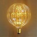 billige Glødelampe-E26/E27 Glødepærer 49 leds Dyp Led Dekorativ Gul 100lm 23000K AC 220-240V