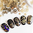 billige Rhinsten&Dekorationer-1 pcs Negle Smykker Negle kunst Manicure Pedicure Daglig Metallic / Mode / Negle smykker