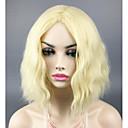 お買い得  女児 ドレス-人工毛ウィッグ ルーズウェーブ 合成 ブロンド かつら 女性用 キャップレス