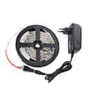 abordables Tiras de Luces LED-5 m Sets de Luces 300 LED 3528 SMD Blanco Cálido / Blanco / Rojo Control remoto / Cortable / Regulable 100-240 V / IP65 / Impermeable / Conectable / Adecuadas para Vehículos / Auto-Adhesivas