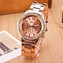 preiswerte Schonbezüge-Geneva Damen Armbanduhr Armbanduhren für den Alltag Legierung Band Modisch / Elegant Silber / Gold / Rotgold / Ein Jahr / SSUO 377