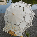 "cheap Wedding Umbrellas-Post Handle Lace Wedding Beach Umbrella Umbrellas 30.7""(Approx.78cm)"