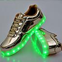 abordables Zapatillas Deportiva de Mujer-Unisex Zapatos PU Primavera Otoño Zapatos con luz Innovador Confort Zapatillas de Atletismo Dedo redondo LED Con Cordón para Deportivo