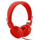 billige Laptop Cover-EP05 På øret / Pannebånd Med ledning Hodetelefoner Balansert armatur Plast Mobiltelefon øretelefon Med mikrofon / Støyisolerende Headset