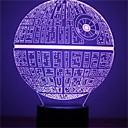 preiswerte Nachtleuchten-1 Stück 3D Nachtlicht Dekorativ LED