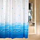 お買い得  人毛キャップレスウイッグ-シャワー用カーテン 新古典主義 PEVA 幾何学模様 機械製