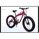 baratos Bicicletas-Bicicleta De Montanha Ciclismo 21 velocidade 26 polegadas / 700CC SAIGUAN EF-51 Freio a Disco Duplo Suspensão Garfo liga de alumínio Alumínio