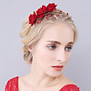 cheap Grips-Crystal / Rhinestone / Velvet Tiaras / Headbands / Flowers with 1 Wedding / Special Occasion Headpiece