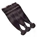 abordables Paquetes de Pelo-4 paquetes Cabello Brasileño Recto Cabello humano Tejidos Humanos Cabello Cabello humano teje Extensiones de cabello humano / Corte Recto