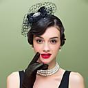tanie Modne pierścionki-wełna rhinestone net fascinators headpiece klasyczny kobiecy styl