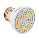billige LED-lyspærer-YWXLIGHT® 1pc 5W 500lm E26 / E27 LED-spotpærer MR16 72 LED perler SMD 2835 Dekorativ Varm hvit Kjølig hvit 10-30V