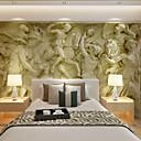 olcso Csillárok-Art Deco 3D lakberendezési Kortárs Falburkolat, Vászon Anyag ragasztószükséglet Falfestmény, szoba Falburkoló