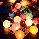 cheap LED String Lights-2.5M  20Leds Rattan Ball String Fairy Lights  Wedding Decoration Party Hot Use  Colorful Fairy Light Garden Decoration