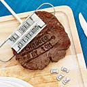 abordables Grifos de Lavabo-Herramientas de cocina Madera Cocina creativa Gadget El moho de bricolaje para la carne 1pc